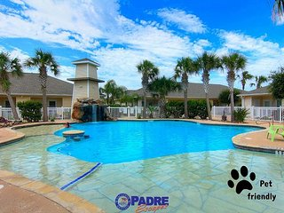 Comfy one bedroom condo with a Great Lagoon-style Pool! - Corpus Christi vacation rentals