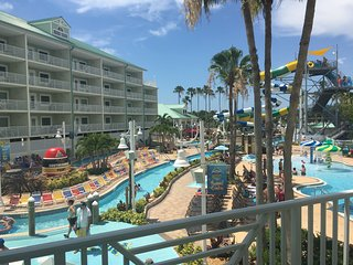 Waterpark 2bd/2ba Double Balcony Suite+ 4 passes - Indian Rocks Beach vacation rentals