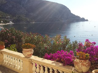 The waterfront Big Terrace  ( Rare House ) - Eze vacation rentals