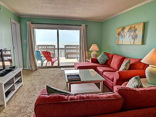 Queen's Grant A-103 - Dynamic Oceanfront View, Pool, Hot Tub, Boat Ramp & Dock - Topsail Beach vacation rentals