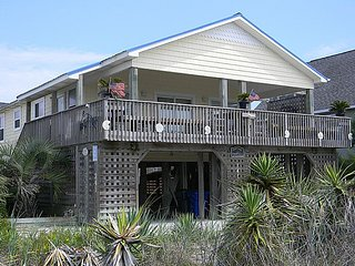 Ross - Excellent Ocean View, Peaceful Area, Charming Cottage, Whirlpool Tub - North Topsail Beach vacation rentals