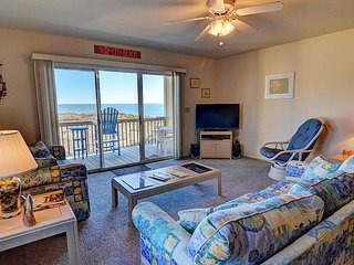 Surf Condo 222 - Scenic Ocean View, Coastal Decor, Pool, Beach Access, Onsite - Surf City vacation rentals