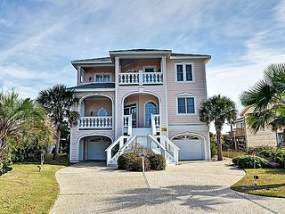 Footprints -  Gorgeous Oceanfront View home w/Elevator, - Topsail Beach vacation rentals