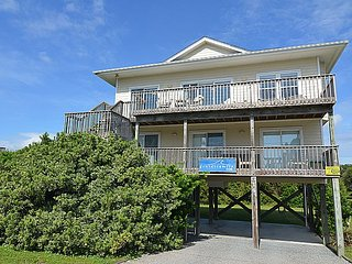 Chapel Chill - Delightfully Modest Home, Ocean View, Beach Access - Topsail Beach vacation rentals