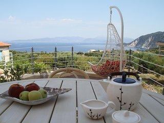 Nice Villa with Television and Balcony - Platrithias vacation rentals