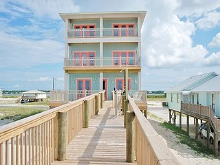 Sea Glass Gorgeous Beachfront Home w Private Heated Pool & Elevator - Gulf Shores vacation rentals