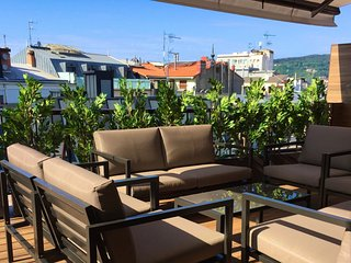 New penthouse with big terrace 100m from the beach - San Sebastian - Donostia vacation rentals