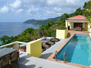 Longview Villa with 40ft pool and stunning views - West End vacation rentals
