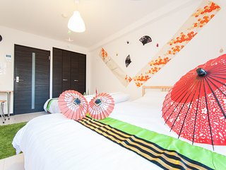 L04 Nipponbashi room 304 Near Namba & Dotonbori - Osaka vacation rentals