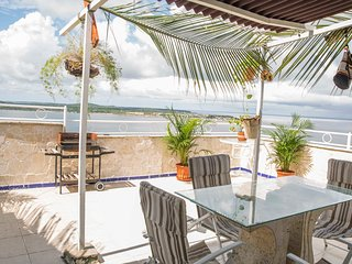 Oceam View Terrace-Sunshine and Palm Trees - Cartagena vacation rentals