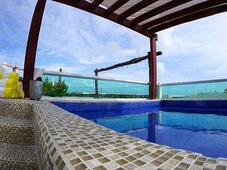 MAGIC PARADISE MAMITAS BEACH AREA,  Ocean View from rooftop & Private Pool - Playa del Carmen vacation rentals