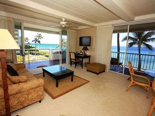 Whaler 401 - Ocean Front One Bedroom, 2 Bath Condominium - Lahaina vacation rentals