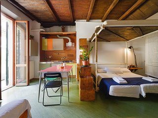 Charming studio apt with terrace - Bologna vacation rentals