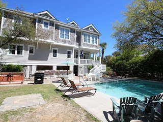 2nd Row Beach Home, Ocean Views, Private Pool/Spa, 5 Minute Walk to Coligny - Hilton Head vacation rentals