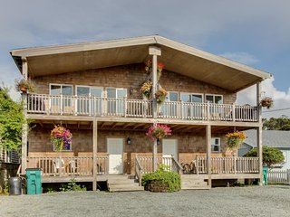 Dog-friendly w/ ocean views, modern interior! Close to Rockaway Beach! - Rockaway Beach vacation rentals