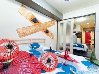 F10 namba Dotonbori shinsaibashi 604 - Osaka vacation rentals