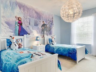 Frozen Magic   2nd Floor Condo, Located in Bldg 5 Close to Clubhouse & Pool with Frozen Themed Bedroom - Orlando vacation rentals