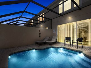 Windsor Magic | Upgraded Magical Townhome with Private Screened Splash Pool - Orlando vacation rentals