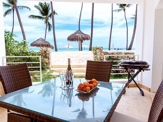 Sea View Delux Beach front Condo 6 guests WiFi - Bavaro vacation rentals