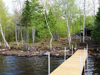 #144 Four-Season log cabin on First Roach Pond - Kokadjo vacation rentals