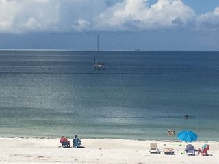 By The C2-Gulf Front with Heated Pool on the Beach - Bradenton Beach vacation rentals