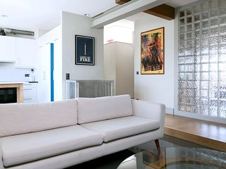 Domino Architect's Flat with Patio in Center! - Geneva vacation rentals
