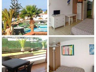 Olimpia, playa Troya, free parking, balcon - Arona vacation rentals