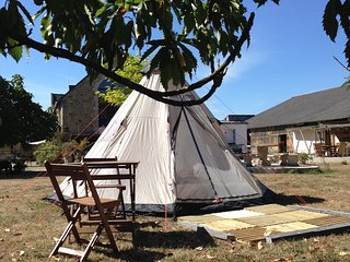 Séjour insolite sous tente Tipi en Morbihan Auray - Pluneret vacation rentals