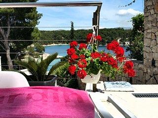 Villa Pia ap.1 Milna, Brač, Croatia - Cove Makarac (Milna) vacation rentals