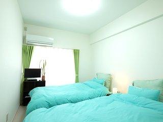 Nakano 1BR TWIN Apartment Type-B (NFC1BRT-B) 2F - Nakano vacation rentals