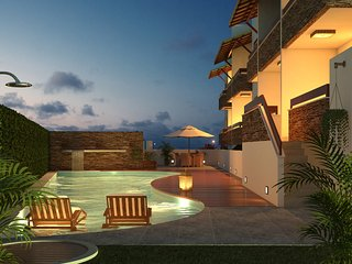 Pipa Centro Residence, Best Location & Ocean Views - Pipa vacation rentals