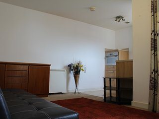 Sleek 1 bedroom flat with great roof terrace view - Southampton vacation rentals