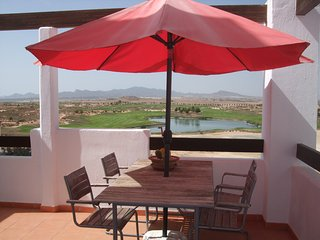 Outstanding frontline penthouse on golf course - Camposol vacation rentals