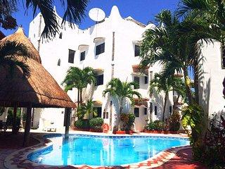 Luxury beach condo 100 meters from the beach 101 - Playa Paraiso vacation rentals