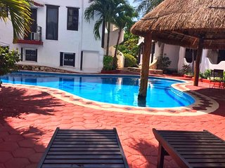 Luxury beach condo 100 meters from the beach 101 - Playa Paraiso vacation rentals