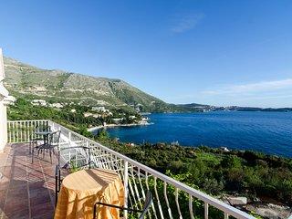 Apartment Sandito-studio with Balcony and Sea View - Srebreno vacation rentals