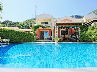 Villa Blue with private pool by Barbati Beach - Barbati vacation rentals