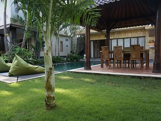 Wonderfull 4 bedrooms villa, new,  rice field wiew - Kerobokan vacation rentals