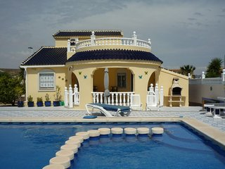 3 Bed 2 Bath With  Private Pool Villa In Mazarron - Camposol vacation rentals