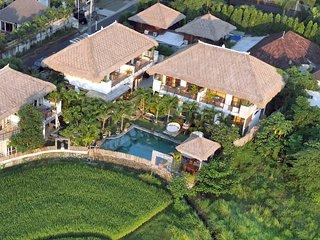 VILLA 5 or 6 bedroom 5 till 16pax open rice fields - Kerobokan vacation rentals