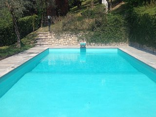 Wonderful villa with Pool, private garden, AC, WIFI, garage in Gardone Riviera - Gardone Riviera vacation rentals