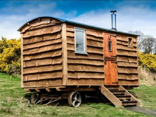 Pyllauduon Luxury Shepherds Hut- A Glamping Site - Tregaron vacation rentals