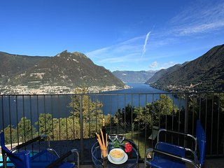 Bright 3 bedroom Faggeto Lario Condo with Internet Access - Faggeto Lario vacation rentals