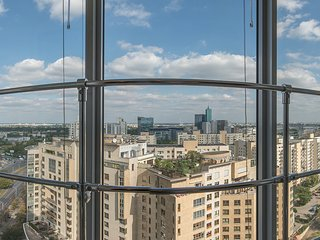 City center apartment! Babka Tower with A/C - Warsaw vacation rentals