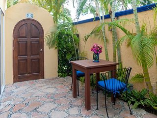 Modern, comfortable well appointed apartment with private courtyard. - Puerto Morelos vacation rentals
