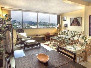 Island Colony #3901-1 Bedroom Condo with Diamond Head and Ocean Views! - Honolulu vacation rentals