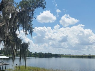 Florida cracker home on pristine spring fed lake. - Lake Placid vacation rentals