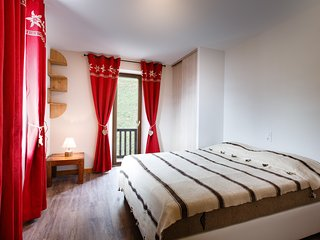 Mont Blanc Lodge - Chambre double / Double bedroom - Hauteluce vacation rentals