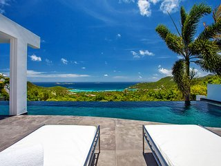 Pure Bliss Modern St Barts Luxury Villa with Breathtaking Ocean Views - Lurin vacation rentals