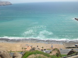 Ocean View Condo a Block from Larcomar - Lima vacation rentals